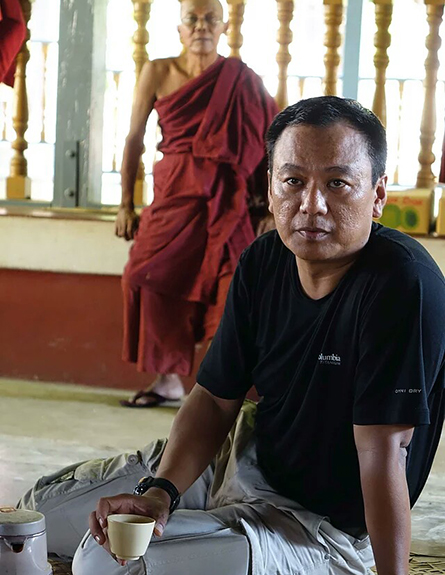 Aung Myo Chit at Tawyagyi Monastery